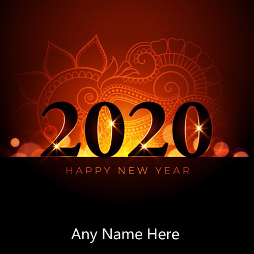 Write Name On Happy New Year 2020 Images With Name