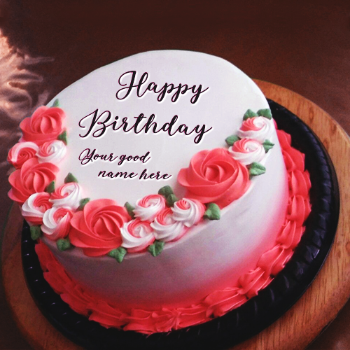 Birthday Cake With Name For Husband