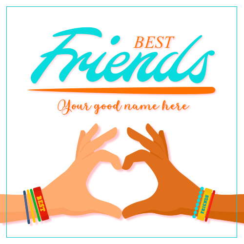 I Love My Friends With Best Friends Name – MyNameOnPics