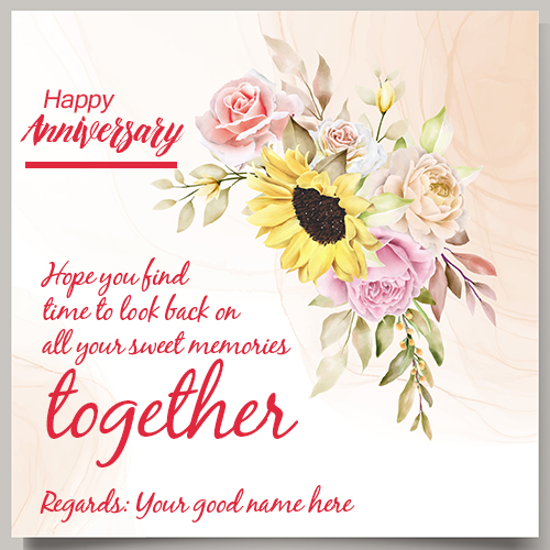 Best Wedding Anniversary Wishes Quotes Images With Name