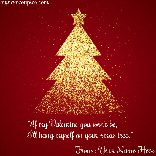 Xmas Tree Quotes 2018 Image With Name