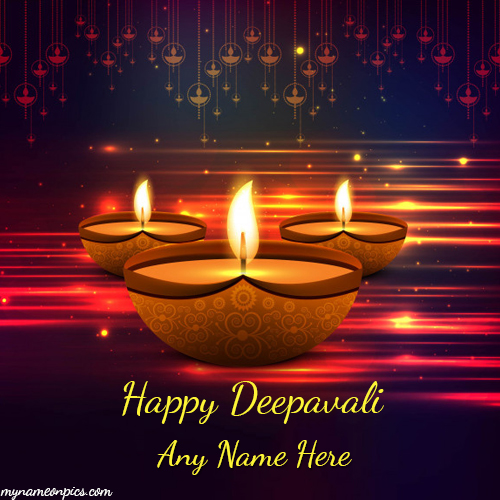 Happy Deepavali Image 2018 With Name