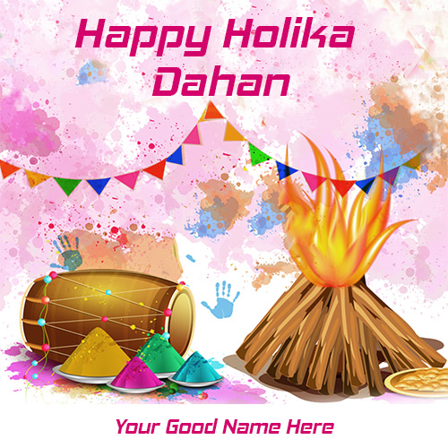 Happy Holika Dahan 2020 Images With Name