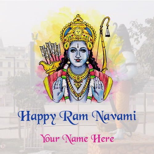 Happy Ram Navami 2021 Images With Name
