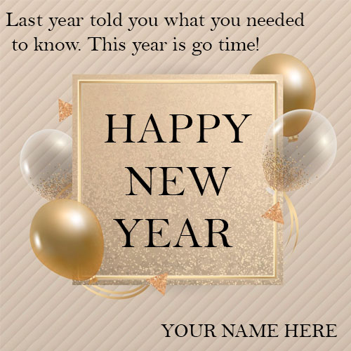 Happy New Year Quotes Images 2021 With Name and Photo