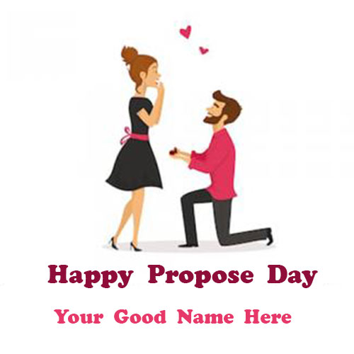 Happy Propose Day Images With Name