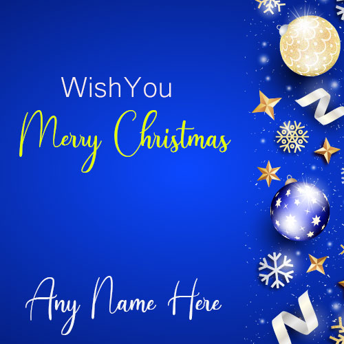 Merry Christmas Wishes 2019 With Name