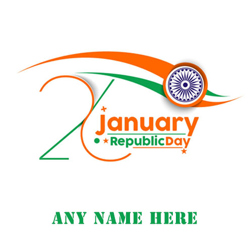 Happy Republic Day 26th January 2020 Pics With Name