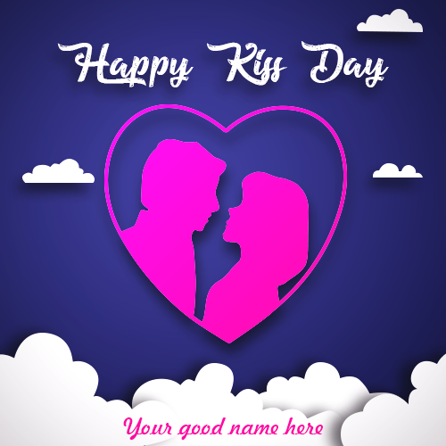 Happy Kiss Day With Name