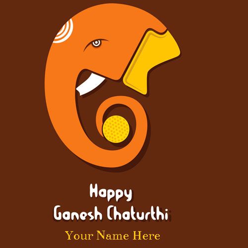 Happy Ganesh Chaturthi Wishes Instagram Status With Name
