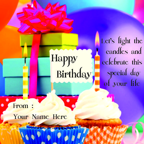 Write Birthday Card Wishes With Name Pics