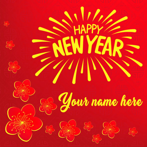 Happy New Year 2021 Images with Name