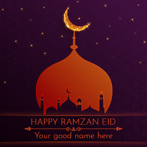 Advance 2019 Eid Mubarak Greetings with Name