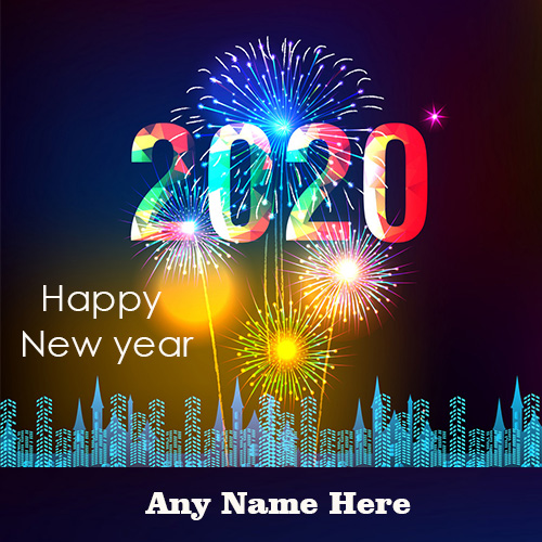 2020 Happy New Year Eve Greetings With Name