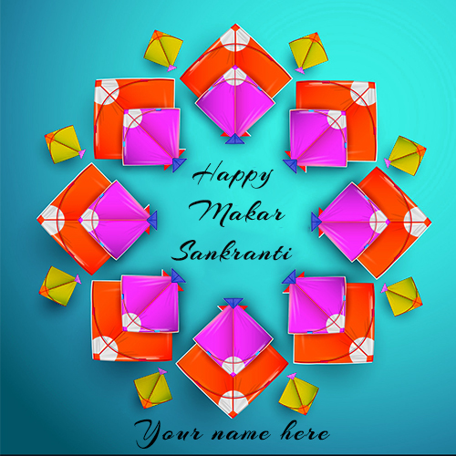 Happy Makar Sankranti 2021 Images With Name