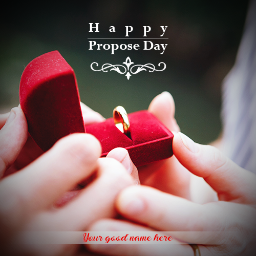 Propose Day Wishes With Name