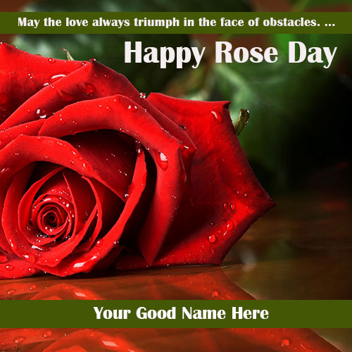 Happy Rose Day 2020 Wishes Images With Name