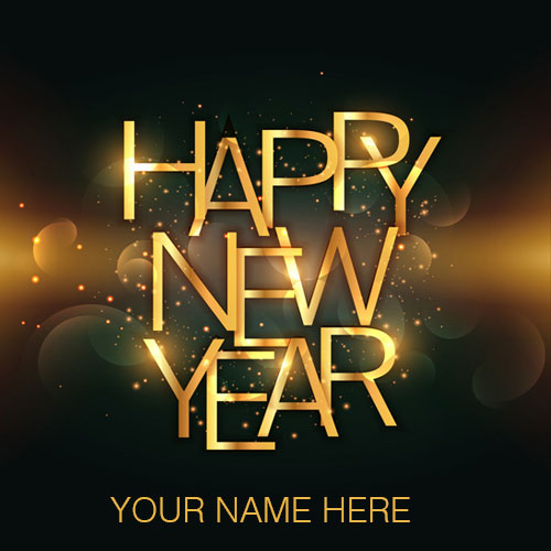 Advance Happy New Year Wishes Images With Name