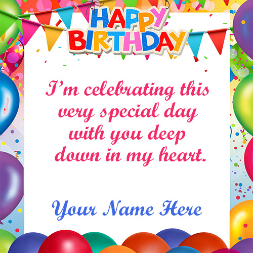 Happy Birthday Wishes Quotes Images With Name