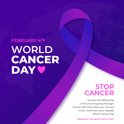 World Cancer Day 2021 Images With Name