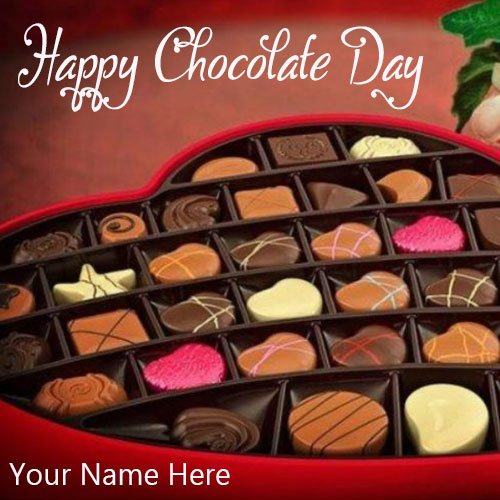 Happy Chocolate Day 2020 Images With Name