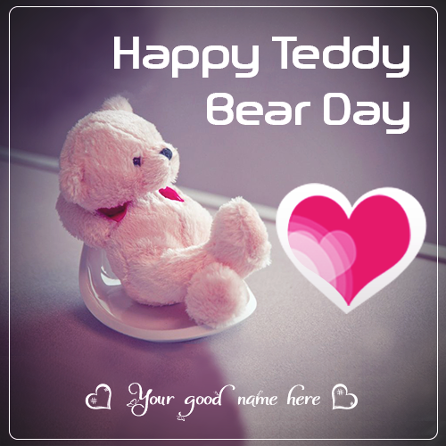 Happy Teddy Bear 2019 Image With Name