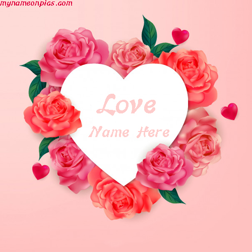 Love Image With Heart Shape Name