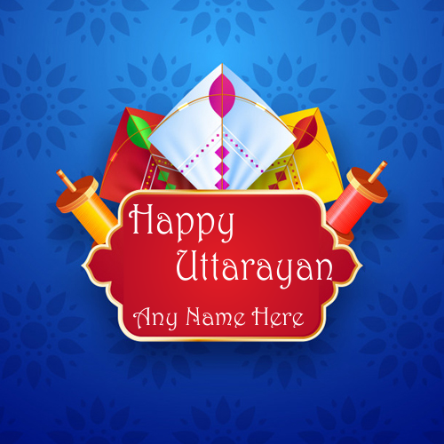 Happy Uttarayan 2019 Images With Name
