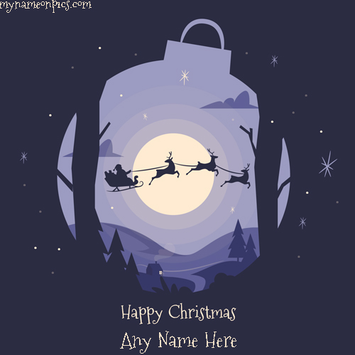 Happy Christmas 2018 Image With Name