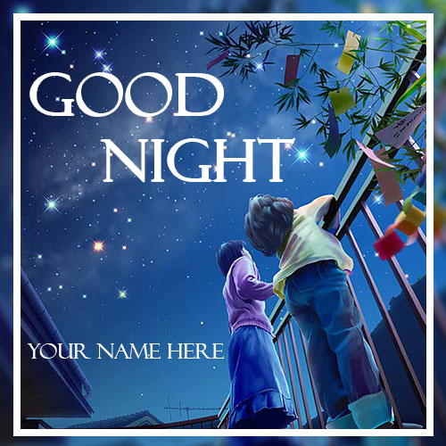 Good Night Sweet Dream Pics With Name Edit